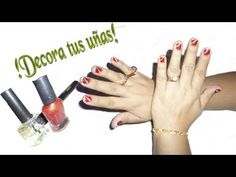 ¿Como decorar tus uñas sencillo?