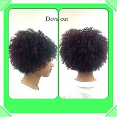 After a Deva Cut by Melody Great Lengths Hair Salon 1019 S. Coiling Natural Hair, Natural Hair Cuts, Natural Hair Journey, Natural Hair Styles, Natural Curls, Deva Curl Cut, Medium Hair Styles, Curly Hair Styles, Short Black Haircuts