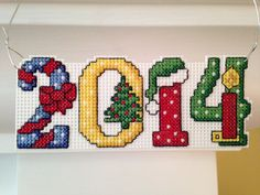 New 2014 Christmas Cross Stitch Ornament by ChresStitchCreations, $6.00