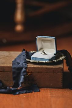 Vintage ring and ring box  #vintage #ringbox #ring
