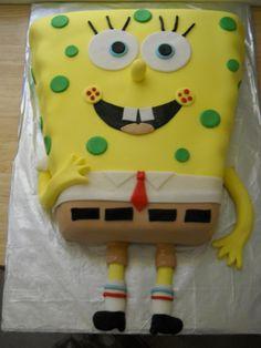 Sponge Bob Cake by Katie