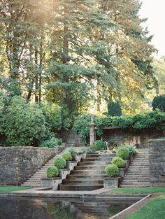 Manor House & Estate Gardens at Lewis & Clark College in Portland, Ore. via Once Wed.