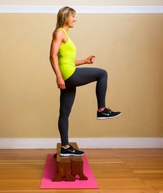 Butt Toning Exercises For Glutes // Step Ups