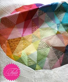 Love this quilt idea!!! Tula Pink | Urban Threads: Unique and Awesome Embroidery Designs