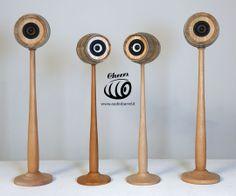 Stand Piedistallo Bat x Cheers 3'' - 50W 8Ω Cheers è l'innovativo diffusore acustico ad alta fedeltà brevettato © Exend.it #AudioBotti, #AudioBarrel, #BottiAcustiche, #WineSpeakers #HiFi #Arredamento Speaker Stands, 3, Cheers, Barrel, Audio, Baseball, Baseball Promposals, Barrel Roll, Barrels