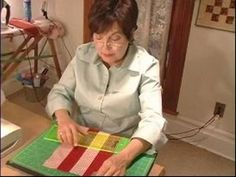 How to Make Quilts : How to Cut Pieces & Patches for a Quilt-Jeanette White - Piper's Q & C-Video#2
