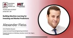 Rebellion Research CEO Alexander Fleiss Financial Engineering, Machine Learning Artificial Intelligence, Research, Investing, Management, Marketing, School, Search, Science Inquiry