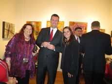 """Amsterdam Whitney Gallery - Gala Champagne Opening Reception and """"Holiday Fete: 12-12-12"""" Party"""
