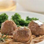 Lemon-Rosemary Turkey Meatballs-diabetic friendly