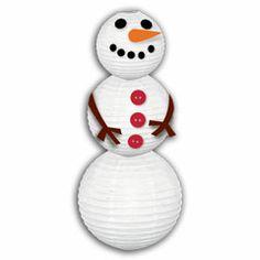 Snowman Lanterns from Windy City Novelties