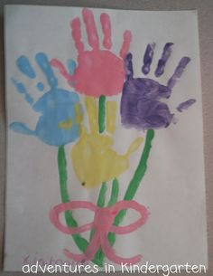 Adventures in Kindergarten: Mother's Day Art