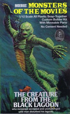 CREATURE FROM THE BLACK LAGOON model kit.