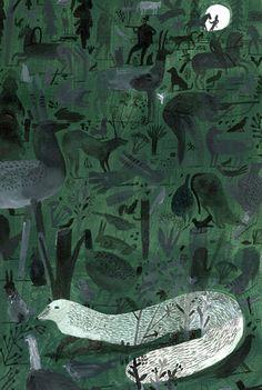 Музей рисунка - Laura Carlin Collage
