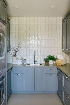 Cabinet Paint Colors, Kitchen Paint Colors, Wall Paint Colors, White Oak Kitchen, Rustic Staircase, Glazed Brick, Phoenix, Backsplash Ideas, Tile Ideas