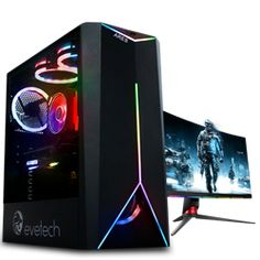 Buy 10th Gen Core i9 10900 5.2GHz RX 5700 8GB Budget Gaming PC at Evetech.co.za Budget Gaming Pc, Gaming Pcs, Gaming Headset, Gaming Setup, Best Pc, Mini Itx, Alienware, Logitech, Games
