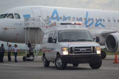 El simulacro se realizó en los predios del Aeropuerto Internacional Arturo Michelena
