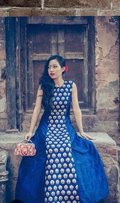Chamee and Palak # cotton dress # Indian fashion # day look Cotton Dress Indian, Indian Dresses, Indian Outfits, Cotton Dresses, Kurta Patterns, Dress Patterns, Indian Attire, Indian Wear, Kitenge