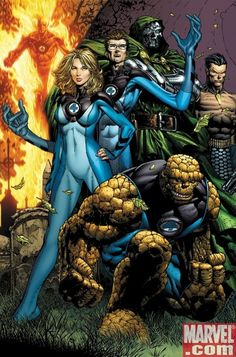 Fantastic Four by David Finch