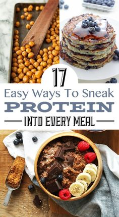 17 Totally Easy Ways To Sneak Protein Into Every Meal