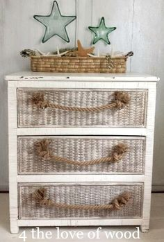 How to Make Rope Handles for Drawers: http://www.completely-coastal.com/2015/11/how-to-make-rope-handles-for-drawers.html