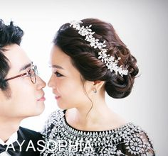 Free shipping,Cristal Bridal headpiece,headpiece with comb, bridal accessories by AYASOPHIA Bridal on Etsy, $80.00
