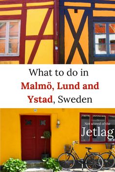 What to do in Malmö, Lund and Ystad