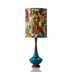 Frida Kahlo once told the world Yes, Im here, and Im just as strange as you. Our classy Frida Lamp will help encapsulate that sentiment in your home in a bright,