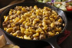 So when we were presented with the challenge of making a healthy grain recipe, my very first thought was to make my own healthy and frankly, upgraded, version of Hamburger Helper. Mac And Cheese Casserole, Casserole Recipes, Macaroni And Cheese, Joe Beef, Homemade Hamburger Helper, Homemade Hamburgers, Healthy Grains, Balanced Meals, Grain Foods
