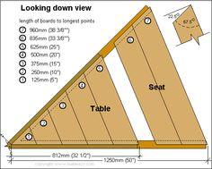 Hexagonal picnic table plans