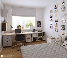 Sypialnia 1 - zdjęcie od PURPLE PRACOWNIA - Pokój dziecka - Styl Skandynawski - PURPLE PRACOWNIA