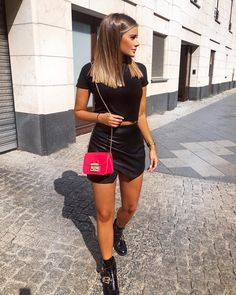 Inspiration : Streetstyle via amazing streetstyle_london angelina. Medium Hair Cuts, Medium Hair Styles, Short Hair Styles, Dark Blonde Hair, Brunette Hair, Hair Curt, Cheveux Beiges, Mode Outfits, Fashion Outfits