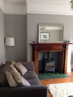 ideas for bedroom green grey walls farrow ball Room, Farrow And Ball Living Room, New Living Room, Luxurious Bedrooms, Room Inspiration, House Interior, Living Room Grey, Room Colors, Living Room Inspiration