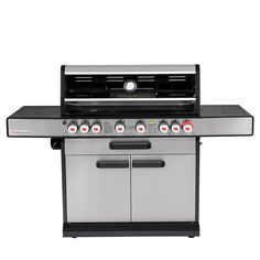 6 Burner Bbq, Double Skin, Bbq Cover, Cast Iron, Kitchen Appliances, Cooking, Bucket, Meal, Enamel