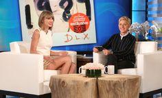 """swiftnetwork: """" Taylor on Ellen """""""