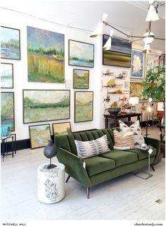 Charleston interior designers. Charleston galleries. Mitchellhill.com