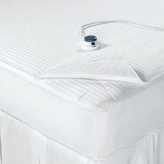 heated mattress pad--want!