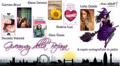 NEW ADULT E DINTORNI: CHRISTMAS GIVEAWAY 2 - IN PALIO 6 LIBRI AUTOGRAFAT...