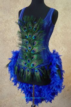 Hey, I found this really awesome Etsy listing at http://www.etsy.com/listing/129294348/size-xl-royal-blue-peacock-feather
