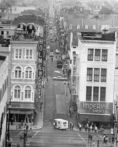 This 1972 photo shows where Bourbon Street starts, at Canal Street.   #throwbackthursday 25 vintage photos of New Orleans streets back in the day | NOLA.com