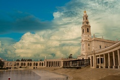 Fatima, Portugal. Along with the Basilica I recommend checking out the Way of the Cross.