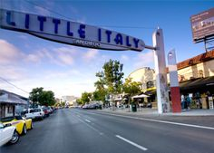 San Diego is home to one of the country's most celebrated Little Italy neighborhoods.