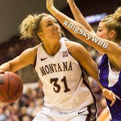 UM's Jordan Sullivan Named Big Sky Conference Women's Basketball Player of the Week #BigSkyWBB #GoGriz
