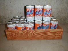 Billy Beer. Actually tried it. Horrible. (Jimmy Carter's Redneck Brother's Beer)