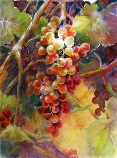 Grapes....using a roadmap | ARTchat - Porcelain Art Plus (formerly Chatty Teachers & Artists)