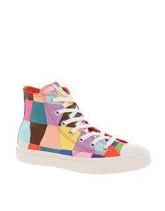 rainbow palette Converse