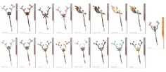 The Lindblum - Final Fantasy XIII Art Vanille's Rods