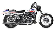 "Full restoration of first-year factory custom,1971 Harley-Davidson FX Super Glide ""Boattail"" Frame no. 2C24404H1"