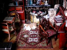 One of my customers who lives in Russia sent me these wonderful pictures of a doll's house scale office that she...