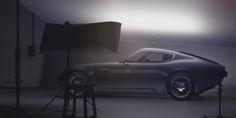 Jaguar E-type concept on Industrial Design Served
