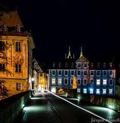 Obere Bruecke in Bamberg